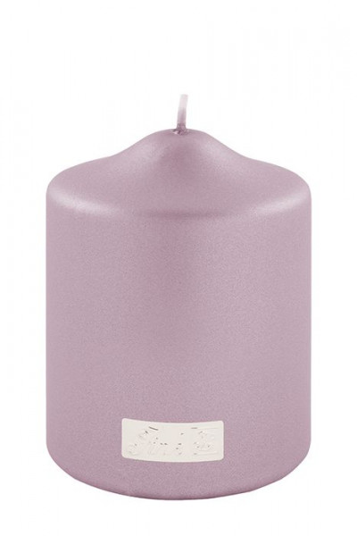 Stumpenkerze CANDLE rose